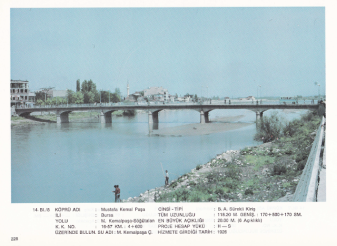 Kirmasti Stream, 1933 [report on the bridge]